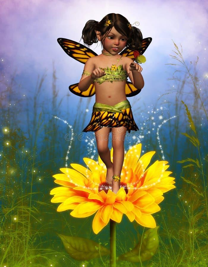 Vlinder Feary vector illustratie