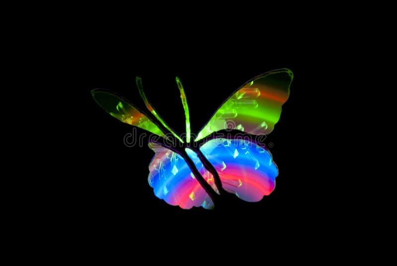Vlinder Licht het Schilderen Beeld royalty-vrije stock foto's