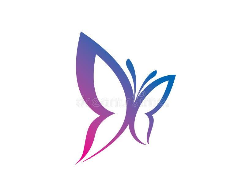 Vlinder Logo Template Design Vector, Embleem, Ontwerpconcept, Creatief Symbool, Pictogram vector illustratie