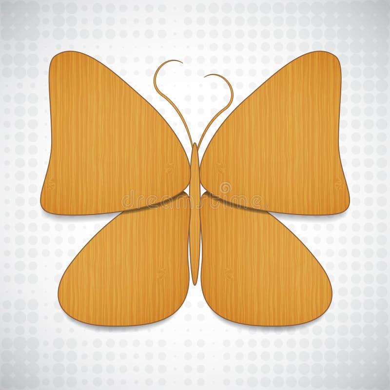 Vlinder-vormige het ontwerp van het Web stock illustratie