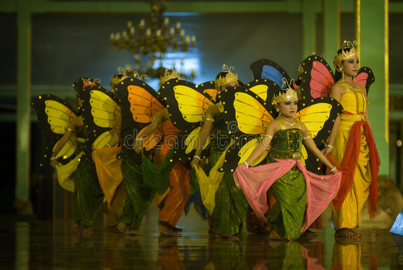 Vlinderdans royalty-vrije stock foto