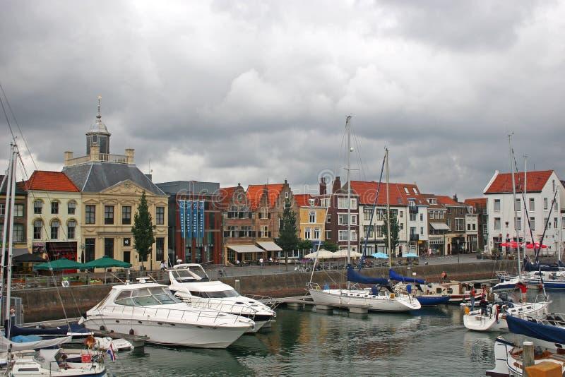 vlissingen Голландии стоковое изображение rf