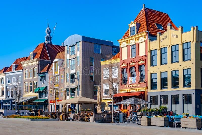 Vlissingen, Нидерланд - апрель 2015: Взгляд Bellamypark стоковые фотографии rf