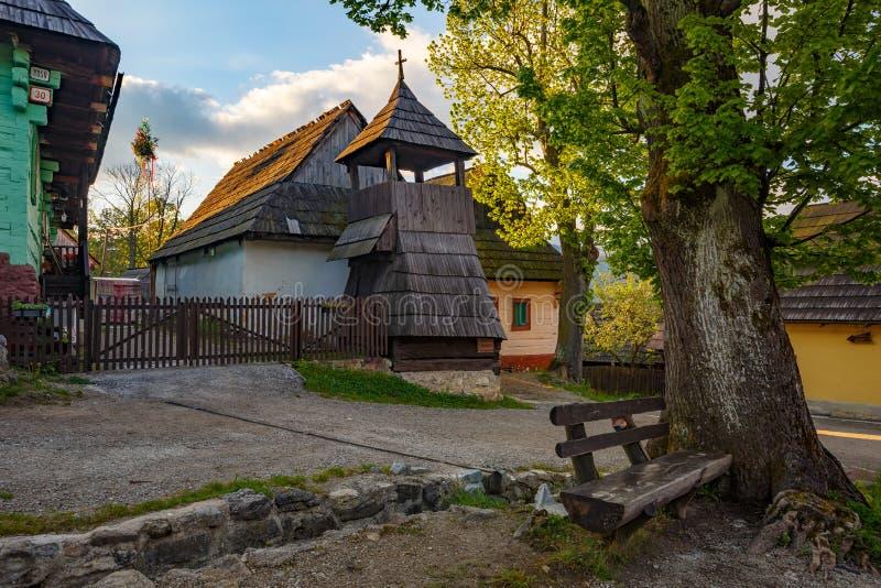 Vlkolinec, Σλοβακία στοκ εικόνες