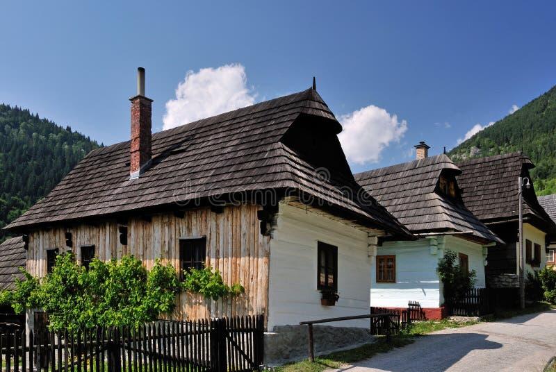 Vlkolinec 3 - La UNESCO imagen de archivo libre de regalías