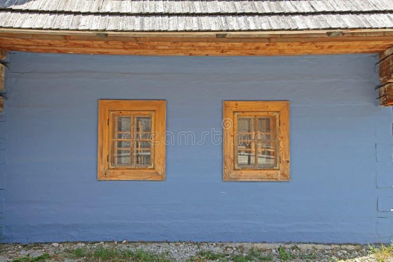Vlkolinec - picturesque historical village, Slovak stock image