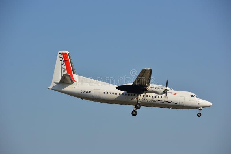 VLN samolot fotografia stock