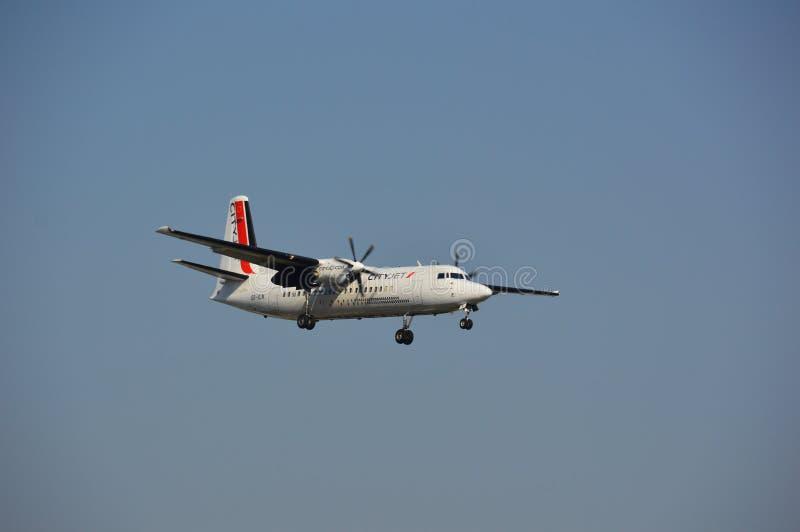 VLN samolot zdjęcie stock