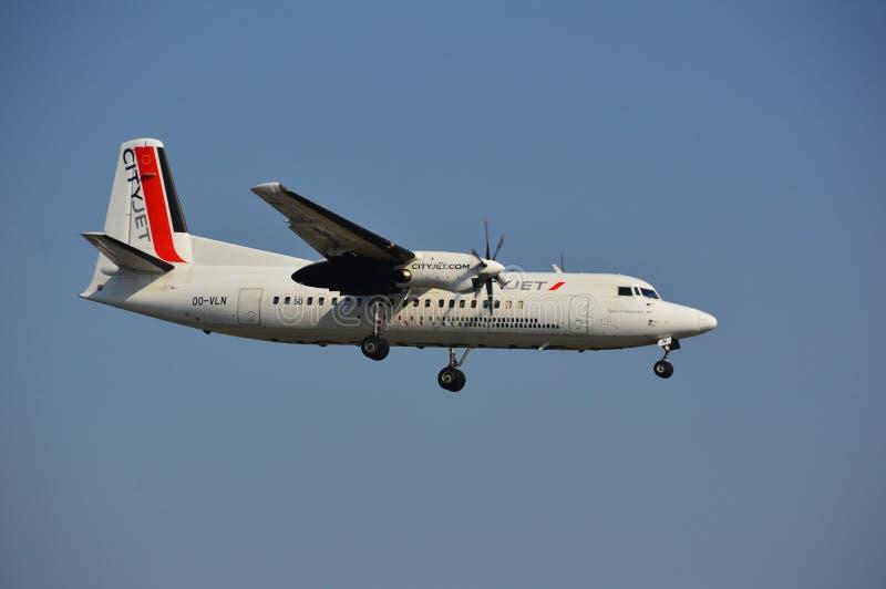 VLN samolot zdjęcia royalty free