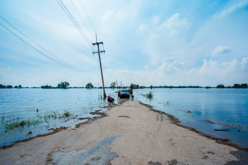 Vloed, Meer, Regen, Stortbui, Water stock afbeeldingen