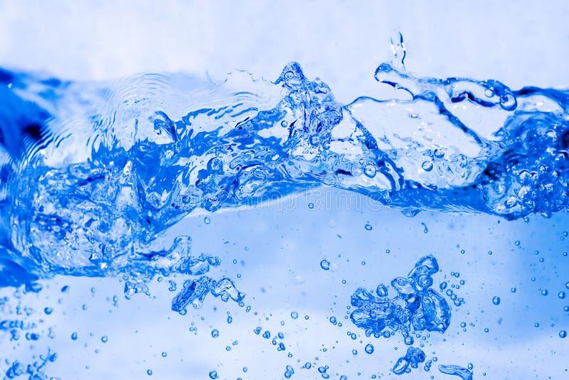 Vloeibaar-serie-vloeibaar: water achtergrond 1 stock foto