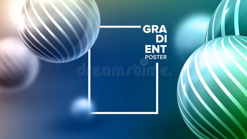 Vloeibare Vloeibare Abstracte Vector Als achtergrond Vormontwerp Grafische affiche Geometrische Gradi?nt Moderne Lay-out Motievli vector illustratie