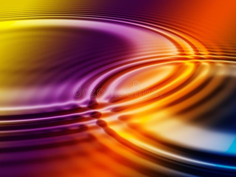Vloeibare kleuren vector illustratie