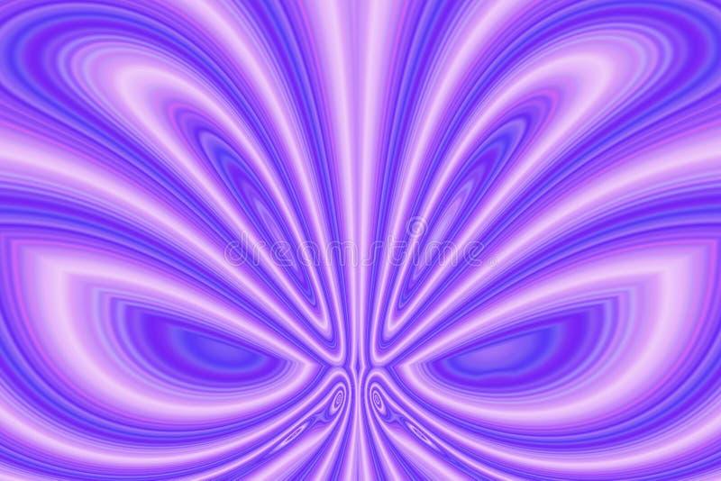 Vloeibare Vlinder royalty-vrije illustratie