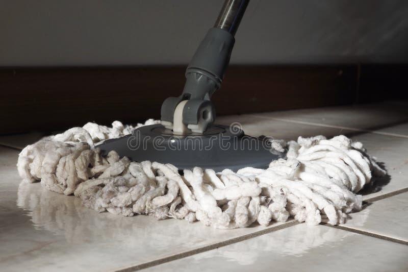 Vloerwasmachine stock foto