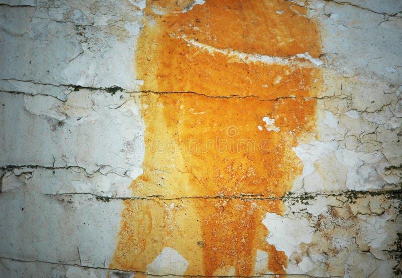 Vlokkige verf houten textuur royalty-vrije stock foto