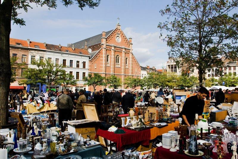 Vlooienmarkt royalty-vrije stock foto's
