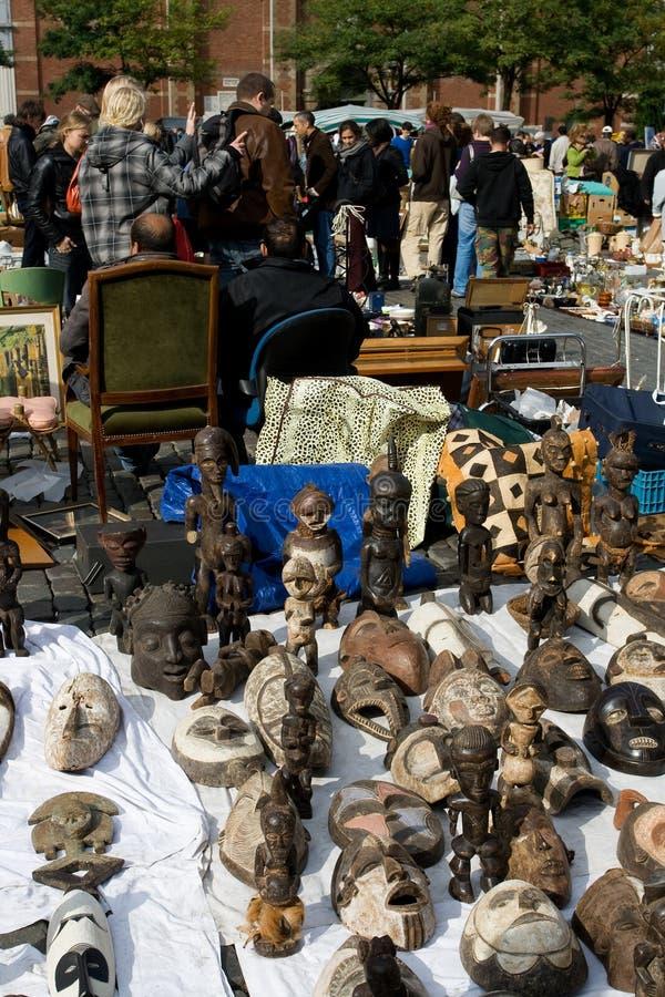 Vlooienmarkt stock fotografie