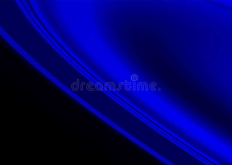 Vlot blauw royalty-vrije illustratie