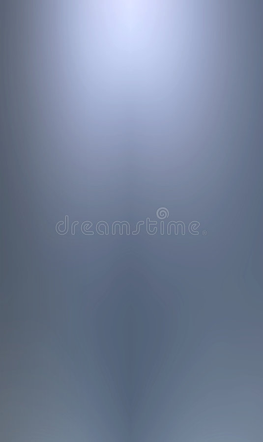 Vlotte blauwe metaalachtergrond royalty-vrije illustratie