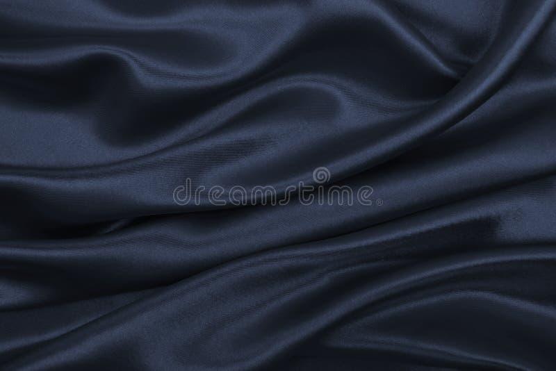 Vlotte elegante donkere grijze zijde of satijntextuur als samenvatting backg royalty-vrije stock foto