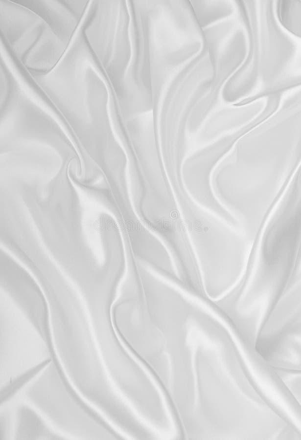 Download Vlotte Elegante Witte Zijde Of Satijntextuur Als Huwelijksachtergrond Stock Foto - Afbeelding bestaande uit gegolft, vlot: 54089456