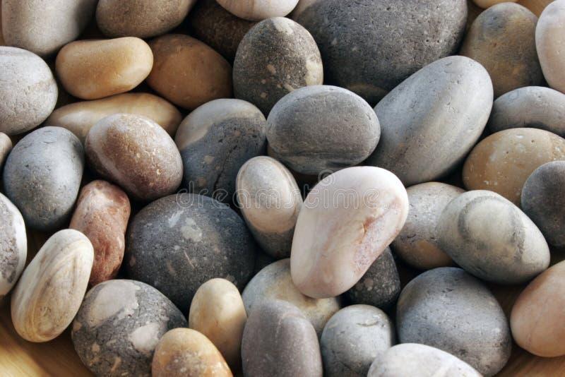 Vlotte stenen stock afbeelding