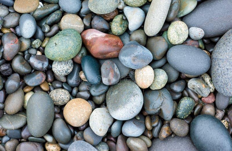 Vlotte stenenachtergrond stock fotografie