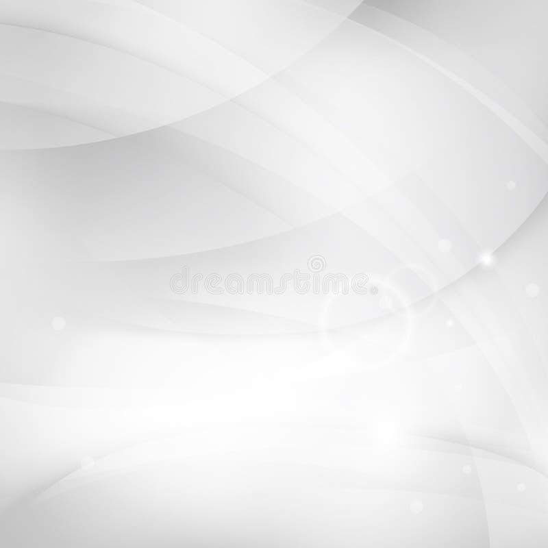 Vlotte witte achtergrond royalty-vrije illustratie