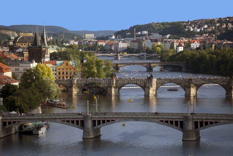 vltava ποταμών της Πράγας στοκ φωτογραφίες με δικαίωμα ελεύθερης χρήσης
