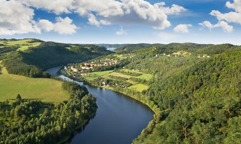 vltava реки стоковые фото