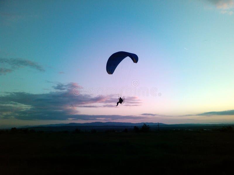 Vlucht door de lucht royalty-vrije stock foto