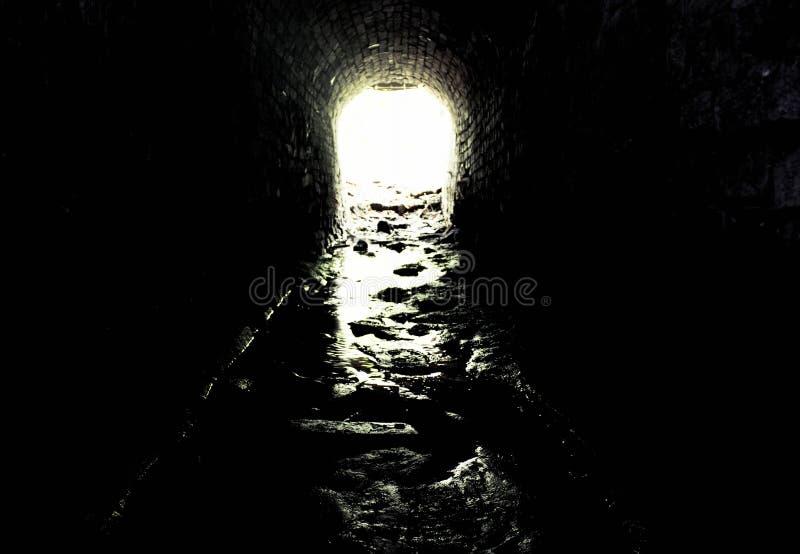 Vlucht van duisternis stock afbeeldingen