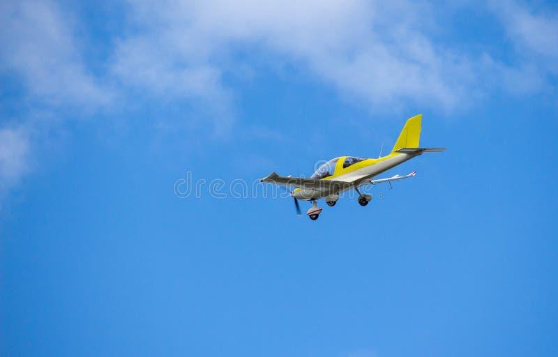 Vlucht van Microlight royalty-vrije stock fotografie