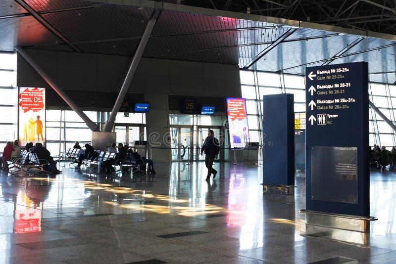 Vnukovo internationaler Flughafen stockfoto