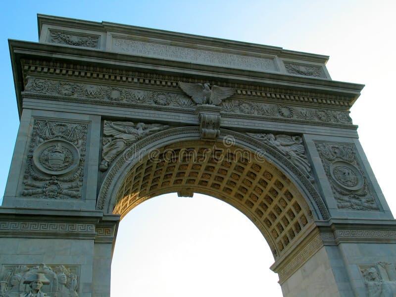 Voûte carrée de Washington, de dessous photo libre de droits