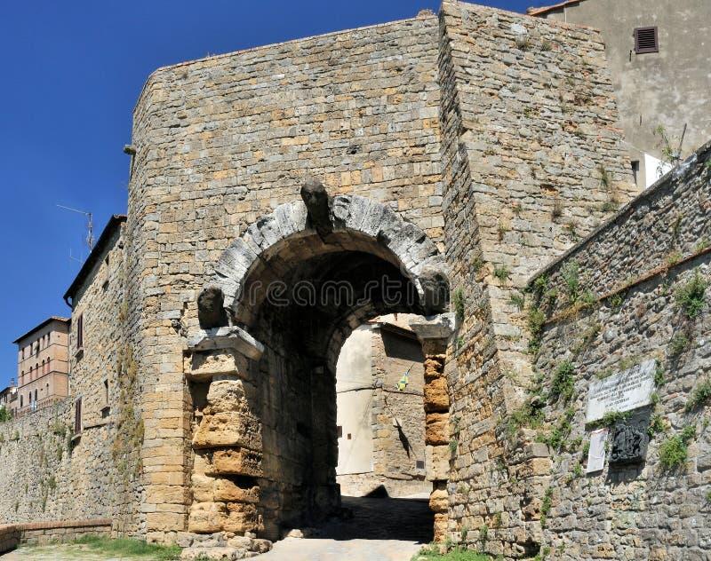 Voûte d'Etruscan photographie stock
