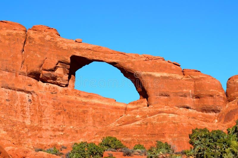 Voûte d'horizon en Utah image libre de droits