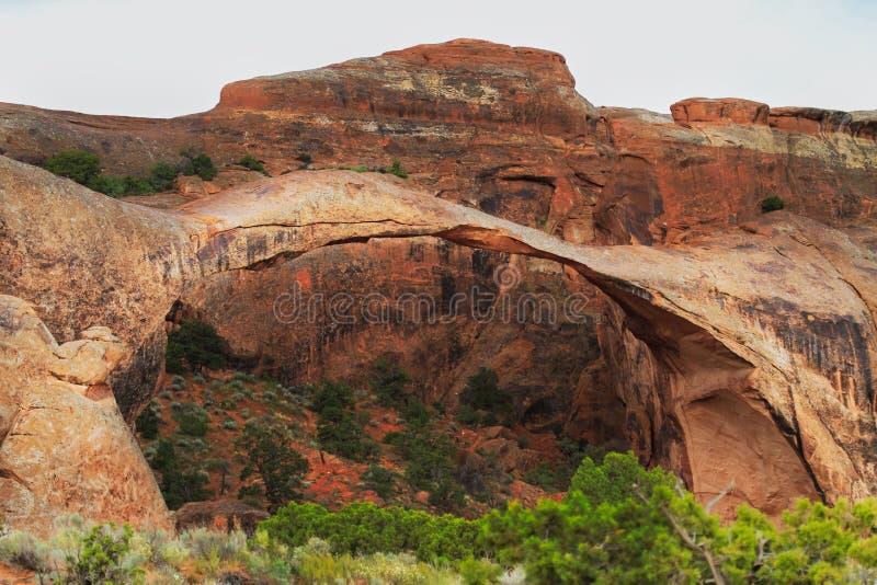 Voûte d'horizontal en Utah photo stock