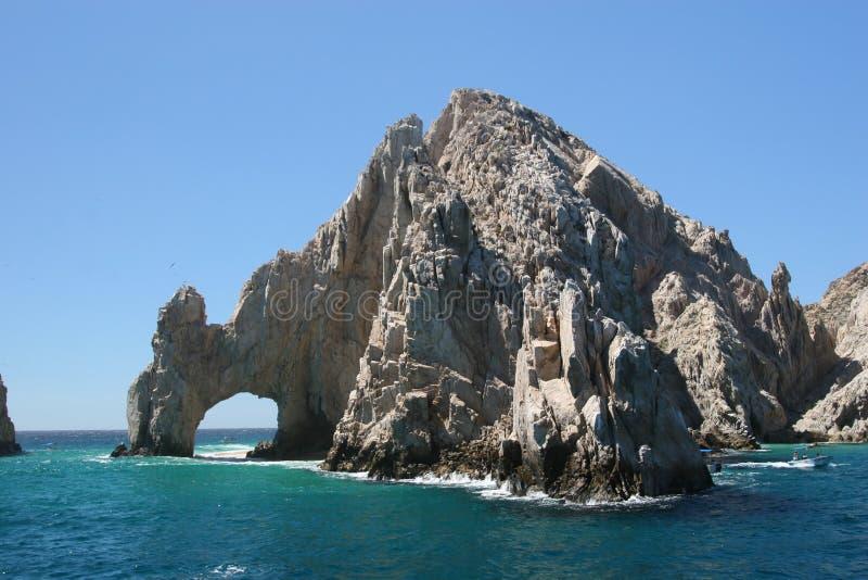Voûte de Cabo San Lucas images libres de droits