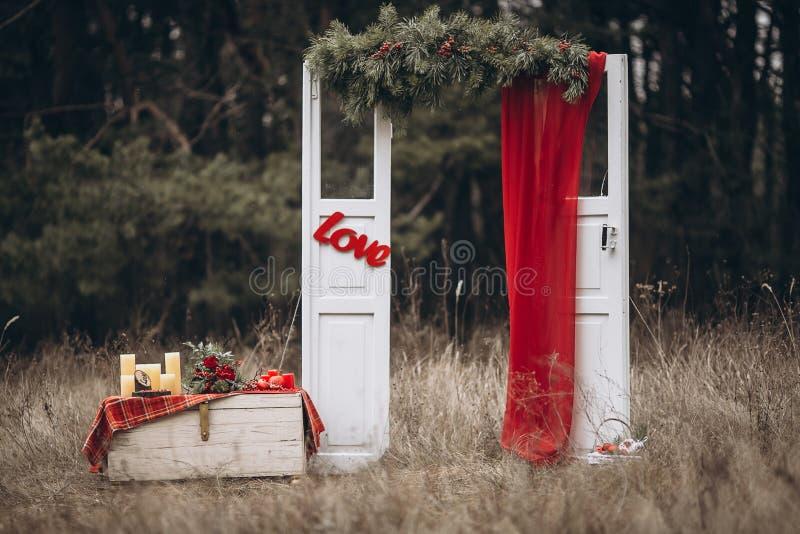 Voûte de mariage image libre de droits