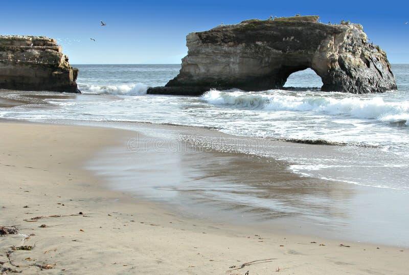 Voûte de plage image libre de droits