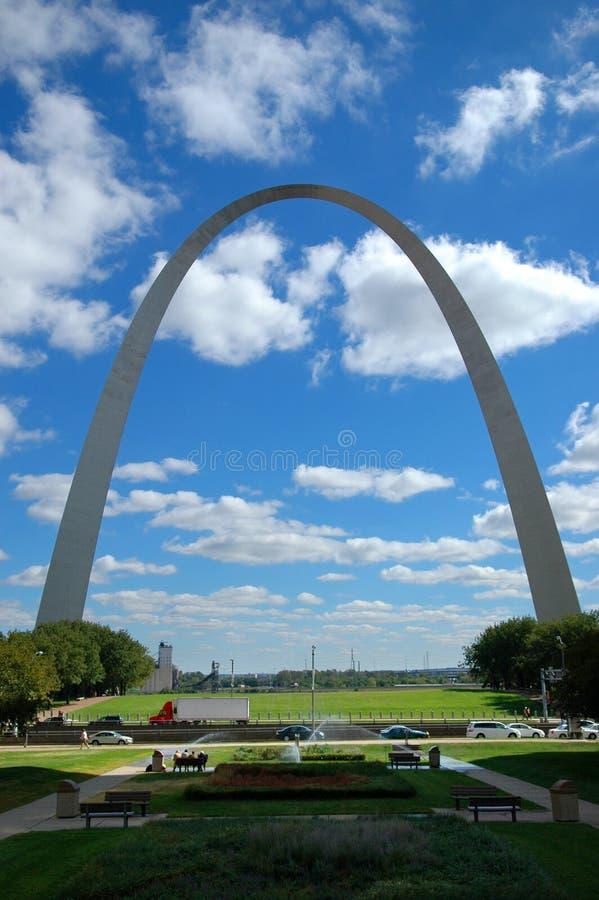 Voûte de St Louis photos stock