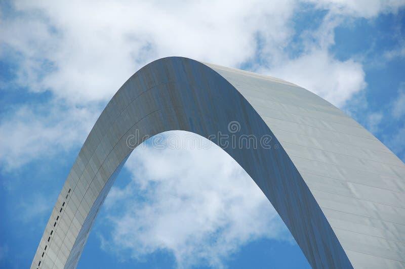 Voûte de St Louis au Missouri image libre de droits