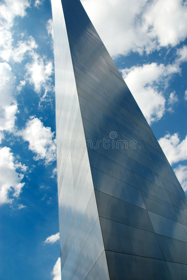Voûte de St Louis - Gateway de Midwest images stock