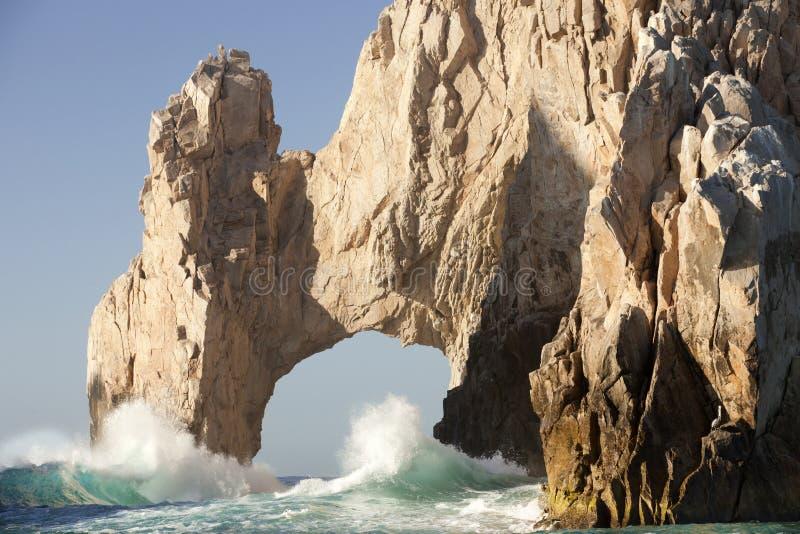 Voûte normale au Land's End Cabo San Lucas Mexique photo stock