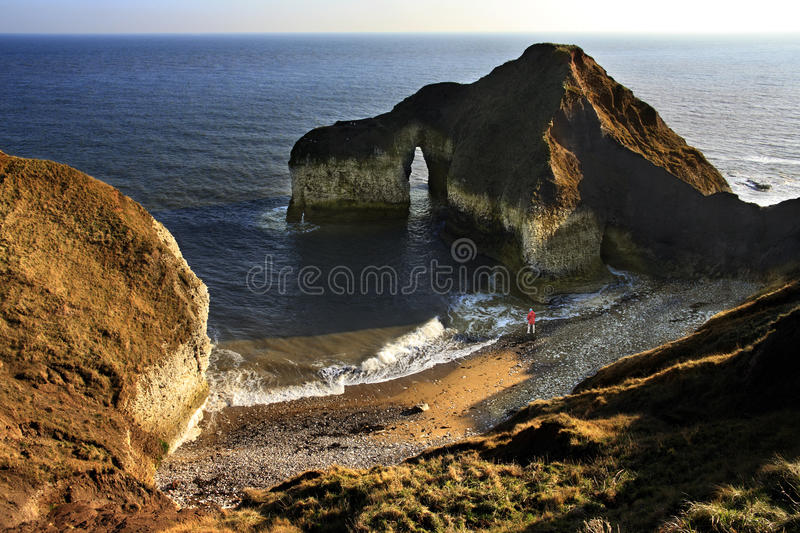 Voûte Normale - Yorkshire - Angleterre Image stock