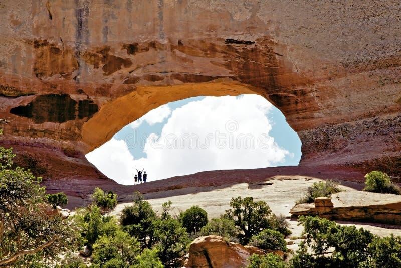Voûte Utah de Wilson photos libres de droits