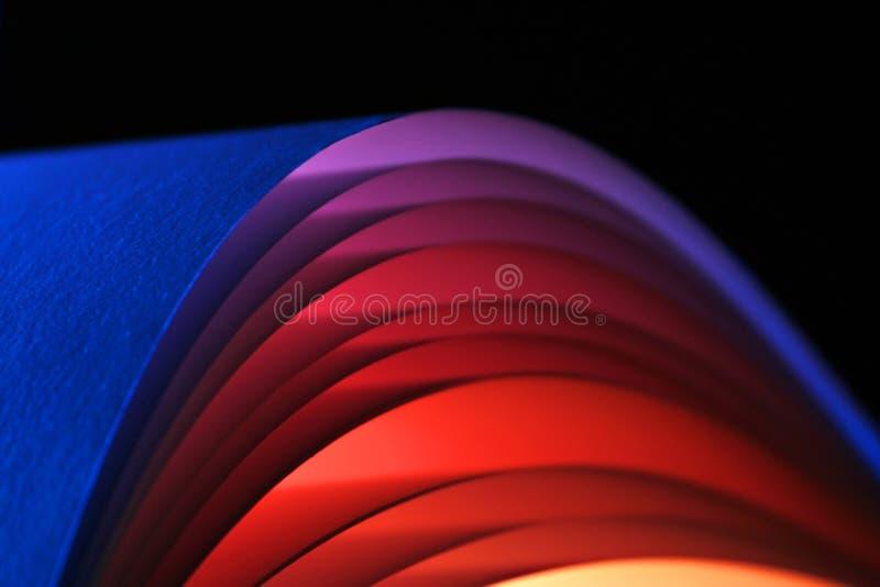 Voûtes colorées 1 de papier images stock