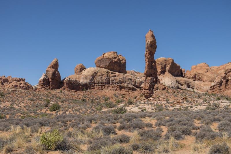 Voûtes parc national, Etats-Unis images stock